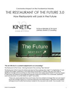 THE RESTAURANT OF THE FUTURE 4.0