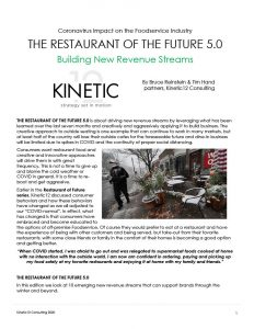 THE RESTAURANT OF THE FUTURE 5.0
