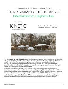 Restaurant of the Future 6.0: Differentiation